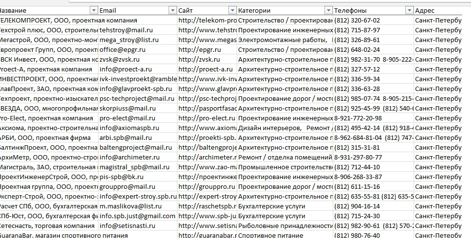 телефонная база жителей санкт-петербурга скачать